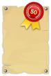 Urkunde 50 Jahre