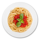 Fototapety pasta dish