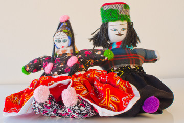 Traditional dolls from Cappadocia, Turkey