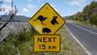 Australiens Straßenschilder