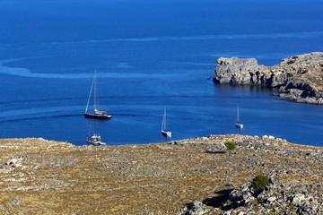 View at Lindos Bay