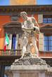 Italy, Reggio Emilia Crostolo statue