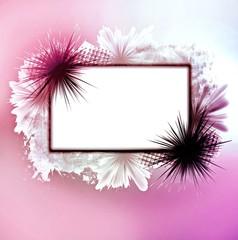 Chic pastel frame