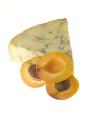Apricots with Blue Cheese