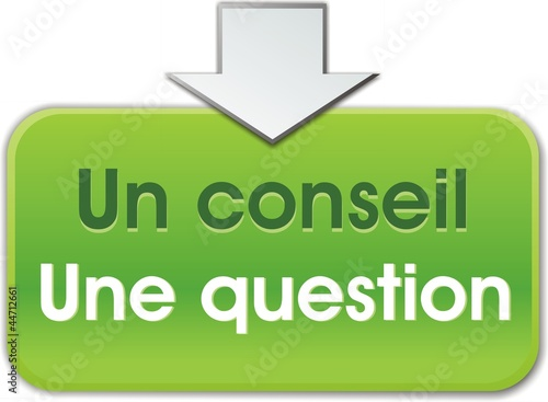 bouton un conseil une question