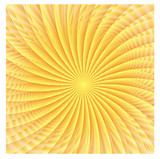 Fototapety abstract spherical luminous gold stars