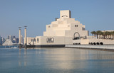 Museum of Islamic Art in Doha. Qatar, Middle East poster