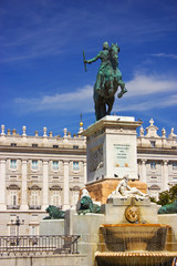Palacio Real - royal palace in Madrid