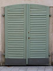 Eingangstüre aus Holz