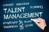 Talent Management - Business Concept poster