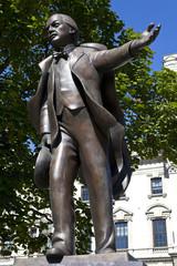 David Lloyd George Statue in London