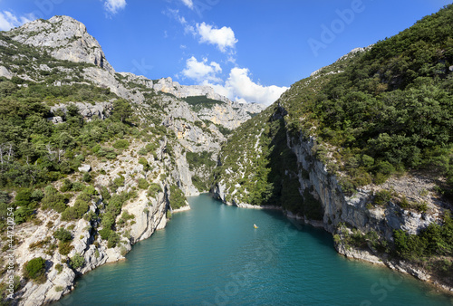 Verdon river canyon (France)