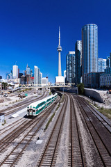 Railway Train Toronto