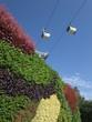 Garten und Seilbahn