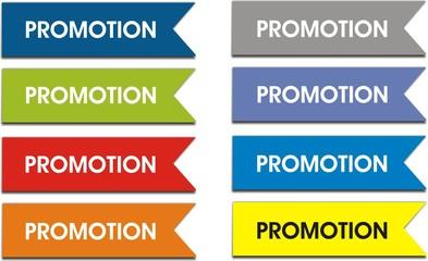 étiquettes promotion