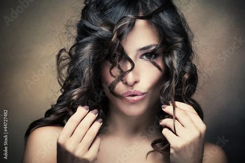 Fototapete Ausdruck - Gesicht - Frau
