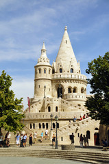 Fischerbastei Budapest , Ungarn