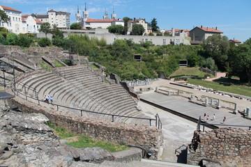 Théâtre romain de Fourvière à Lyon