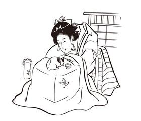 婦人(冬)