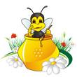 Постер, плакат: ape e miele
