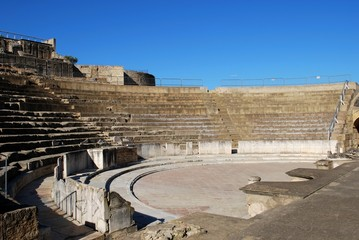 Roman theatre, Santiponce, Italica, Spain © Arena Photo UK