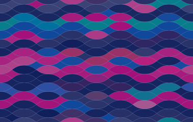 seamless background. purple-pink decor of the wave