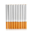 Color photo of filter cigarettes background
