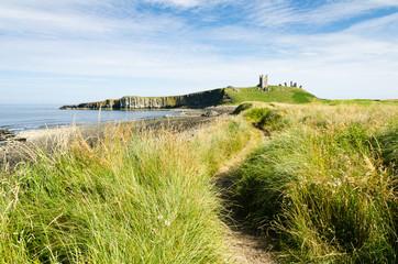 Path to Dunstanburgh  Castle