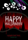 Happy Halloween Design template with place for text.