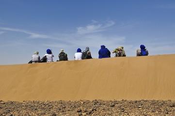 Rast in der Wüste