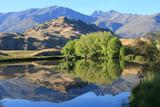 Fototapety New Zealand mountain lake