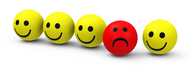 Der traurige Smiley
