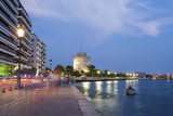 The white tower at Thessaloniki city in Greece - 44740895