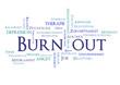 Burn Out blau