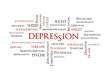 Depression Schlagwortwolke
