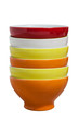 Stack of Colorful bowls