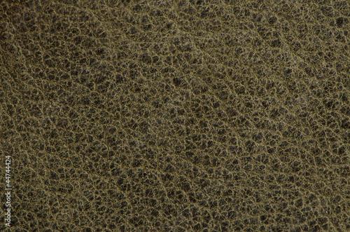 Staande foto Leder Green leather