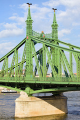Liberty Bridge in Hungary