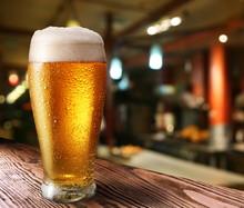 """Постер, картина, фотообои """"Glass of light beer"""""""