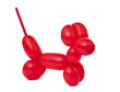 red twisted balloon dog