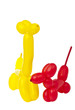 Toy of balloons isolated