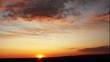 beautiful sunset. time-lapse HD