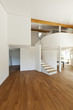 interior modern house, large open space