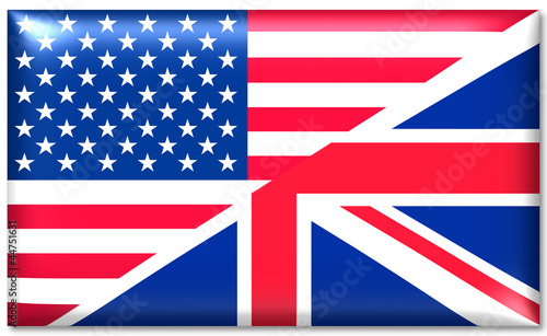 usa uk fahne flag