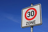 neues Schild 30er Zone