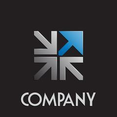 Logo import export # Vector