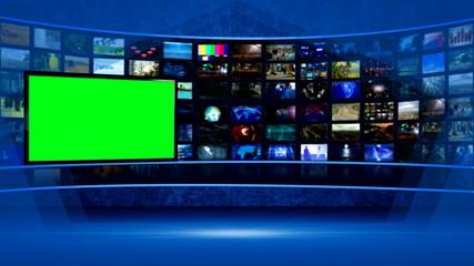 virtual tv studio series (More than 20)