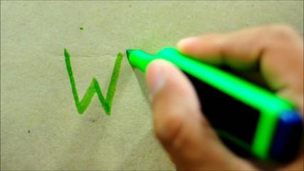 Hand Writing WWW.