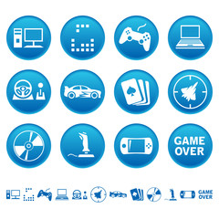 Computer games icons