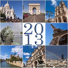 2013, collage Paris